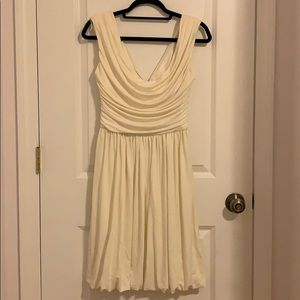 Laggy London Beige Cocktail Dress